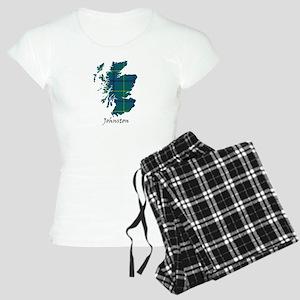 Map - Johnston Women's Light Pajamas