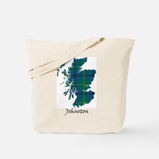 Map - Johnston Tote Bag