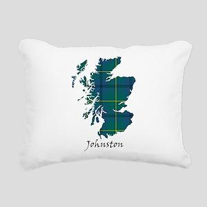 Map - Johnston Rectangular Canvas Pillow