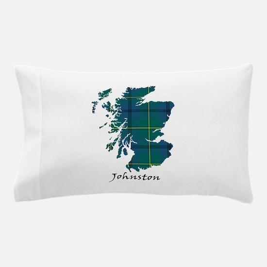Map - Johnston Pillow Case