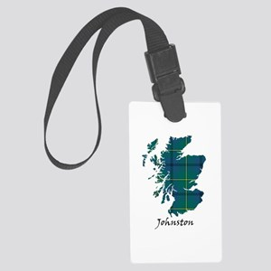 Map - Johnston Large Luggage Tag