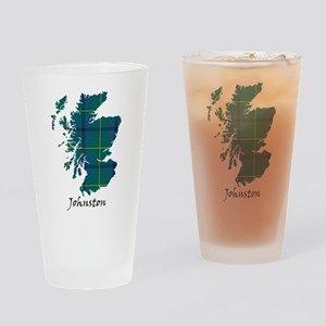 Map - Johnston Drinking Glass