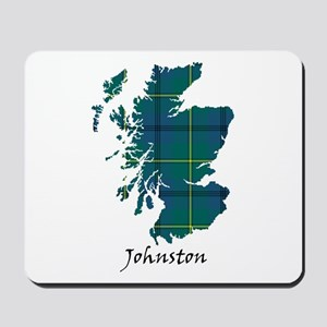 Map - Johnston Mousepad