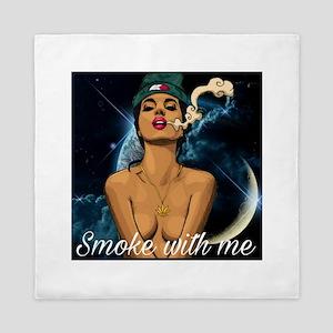 Smoke with me Queen Duvet