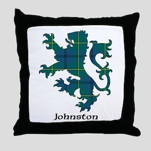 Lion - Johnston Throw Pillow