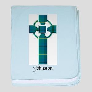 Cross - Johnston baby blanket