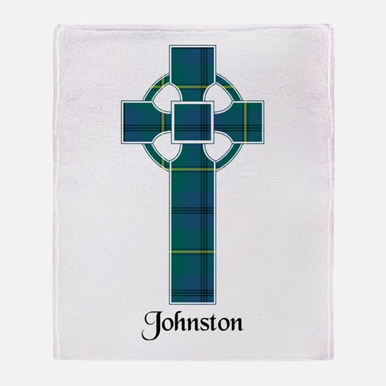 Cross - Johnston Throw Blanket
