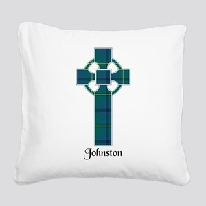 Cross - Johnston Square Canvas Pillow