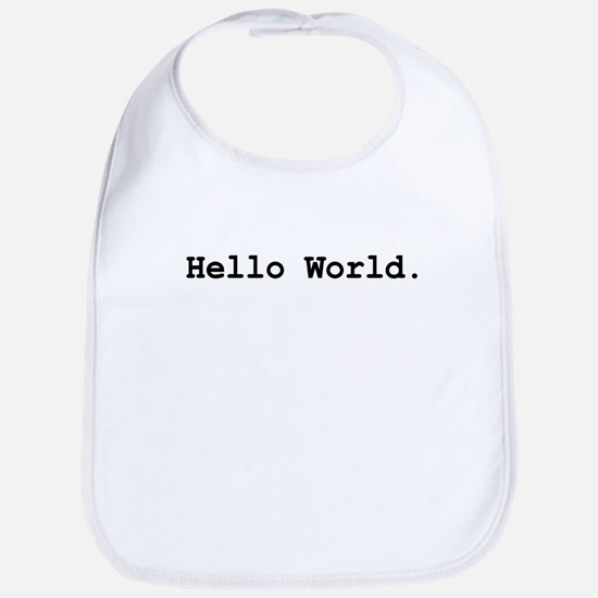 Hello World Bib
