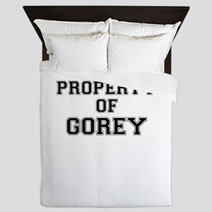Property of GOREY Queen Duvet