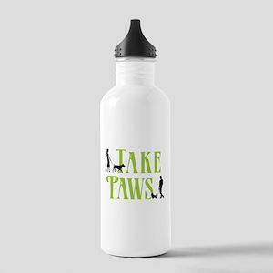 Merch Logo - White Water Bottle