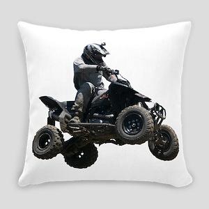 Black Quad Everyday Pillow