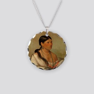 The Female Eagle by George Catlin Necklace