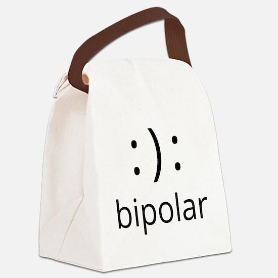 Cute Bipolar Canvas Lunch Bag
