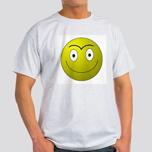 Unibrow Smiley Light T-Shirt