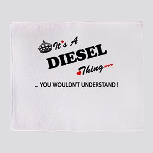 DIESEL thing, you wouldn't understan Throw Blanket