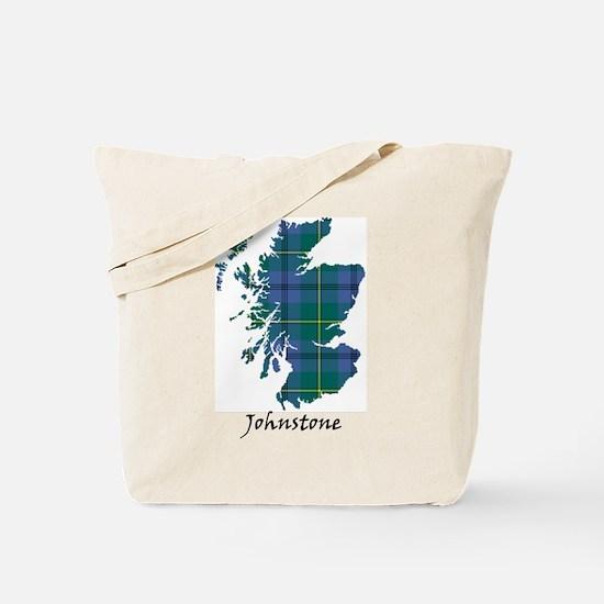 Map - Johnstone Tote Bag