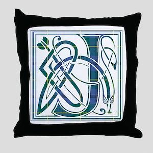 Monogram - Johnstone Throw Pillow