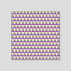 Princess Crown Rainbow Emoji Poop Sticker