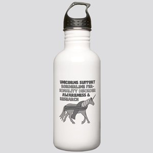 Unicorns Support Borde Stainless Water Bottle 1.0L