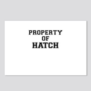 Property of HATCH Postcards (Package of 8)