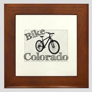Bike Colorado Framed Tile