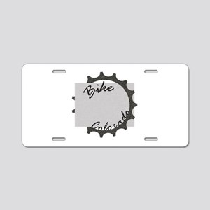 Bike Colorado Aluminum License Plate