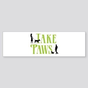 Merch Logo - White Bumper Sticker