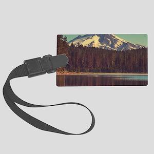 Mount Hood Large Luggage Tag