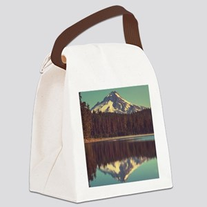 Mount Hood Canvas Lunch Bag