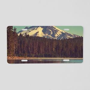 Mount Hood Aluminum License Plate