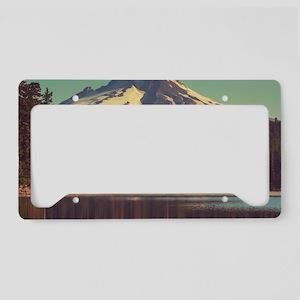 Mount Hood License Plate Holder