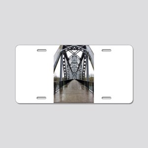 Wet Trestle Aluminum License Plate