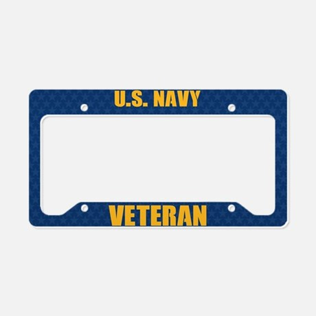 U.S. Navy Veteran License Plate Frames License Plate Frame