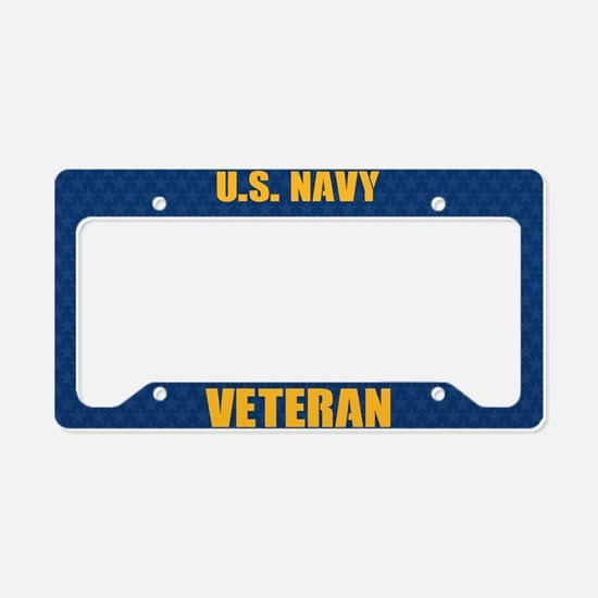 U.S. Navy Veteran License Plate Holder