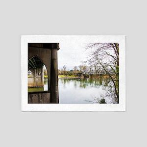 River Bridges 5'x7'Area Rug