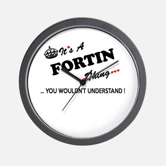 FORTIN thing, you wouldn't understand Wall Clock