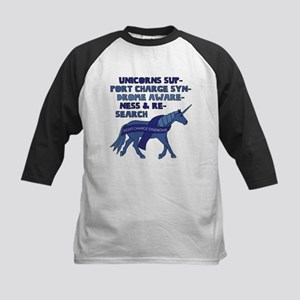 Unicorns Support Charge Syndrome A Baseball Jersey