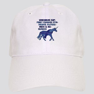 Unicorns Support Charge Syndrome Awareness Cap