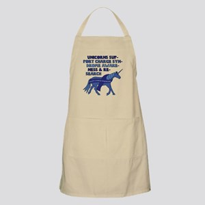 Unicorns Support Charge Syndrome Awareness Apron