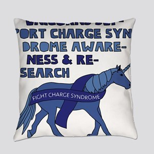 Unicorns Support Charge Syndrome A Everyday Pillow