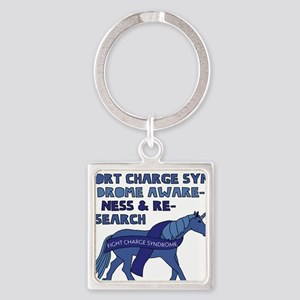 Unicorns Support Charge Syndrome Awarene Keychains