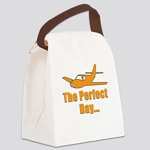 Cool Airplane Canvas Lunch Bag