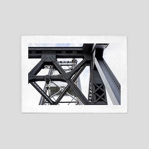 Iron Works 5'x7'Area Rug