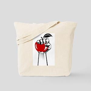 Revolution Apple Tote Bag