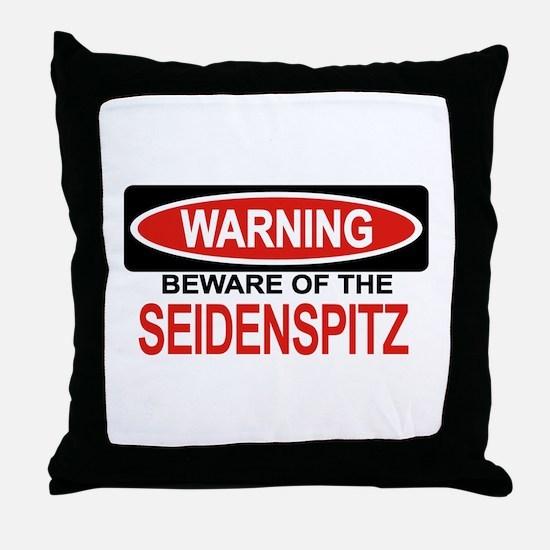 SEIDENSPITZ Throw Pillow