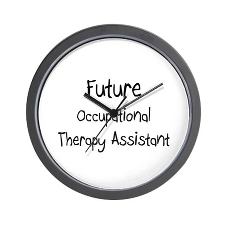 Future Occupational Therapy Assistant Wall Clock By Hotjobs