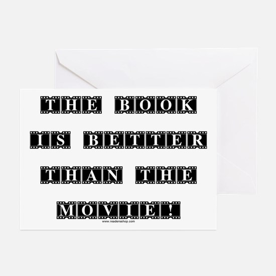 The Book is Better...<br> Greeting Cards (Package