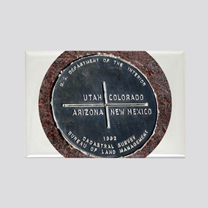 Four Corners USA Geographical Marker Magnets