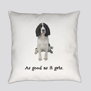 Good Springer Spaniel Everyday Pillow